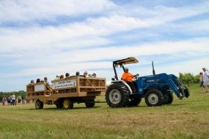 TractorRide Day 25: Fenn Valley Wine Festival