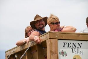 TractorRide2 Day 25: Fenn Valley Wine Festival