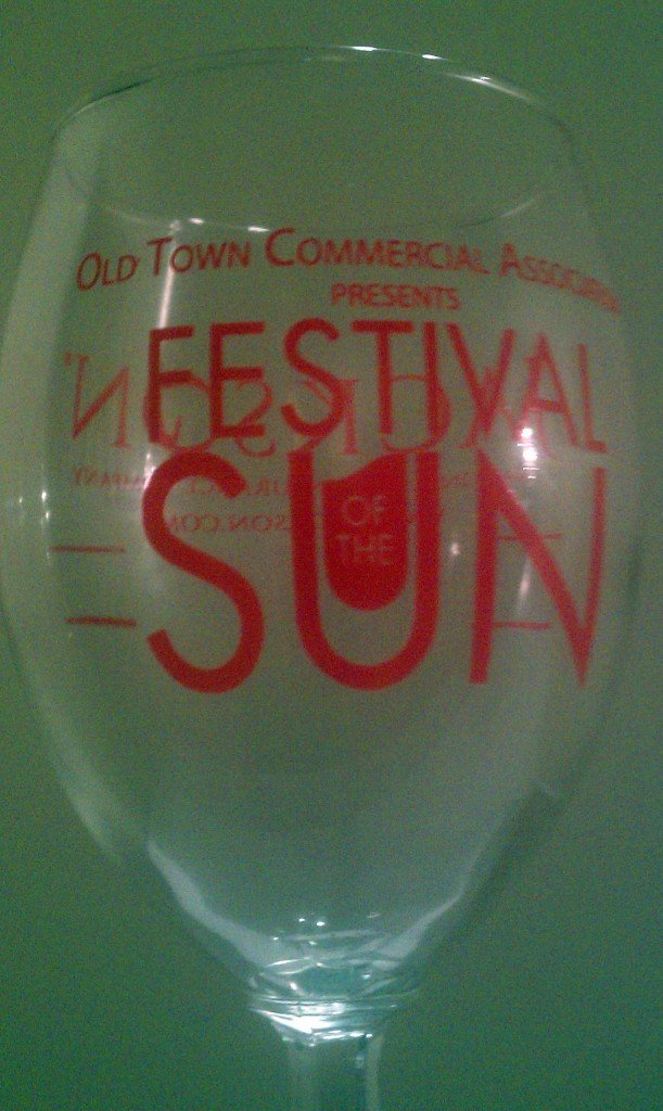 wine glass Day 23: Festivals of the Sun & Moon