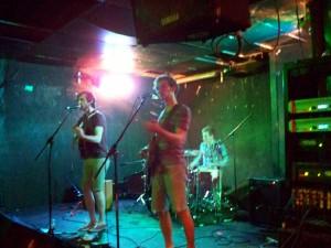 Gun Lake playing a set at Macs Bar in Lansing. Day 44: Fusion Shows