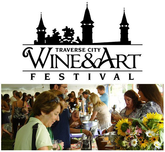 Day 65 traverse city art wine festival awesome mitten for Craft shows in traverse city mi