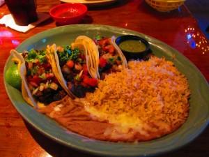 The Tres Steak Taco menu item at Sagebrush Cantina. Day 85: Sagebush Cantina