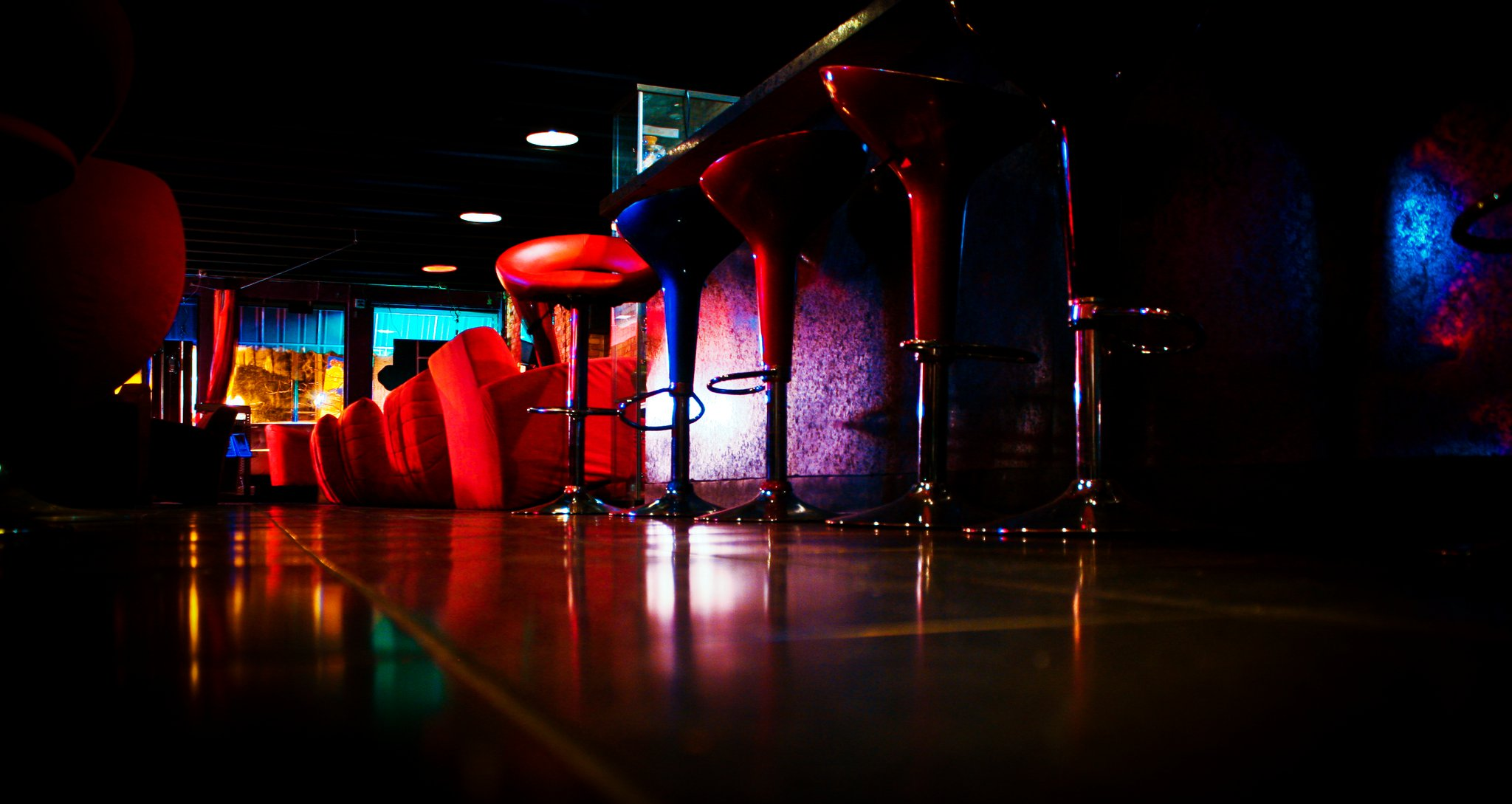The interior of the Hookah Lounge courtesy of Hookah Lounge Day 78: Eastown Hookah Lounge