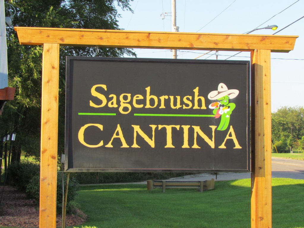 Welcome to Sagebrush Cantina in Fenton Photo by Melissa Green Day 85: Sagebush Cantina