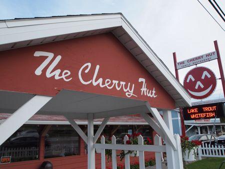 CherryHut entrance Day 104: Cherry Hut