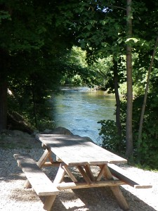 The Awesome Mitten - Dexter Cider Mill Outdoor Seating