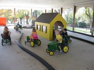 Nottawa Fruit Farm mini tractors Day 96: Nottawa Fruit Farm