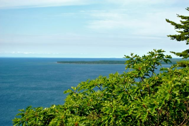 View from Bare Bluff Looking South Everything You Need to Know to Hike Bare Bluff in the Keweenaw Peninsula