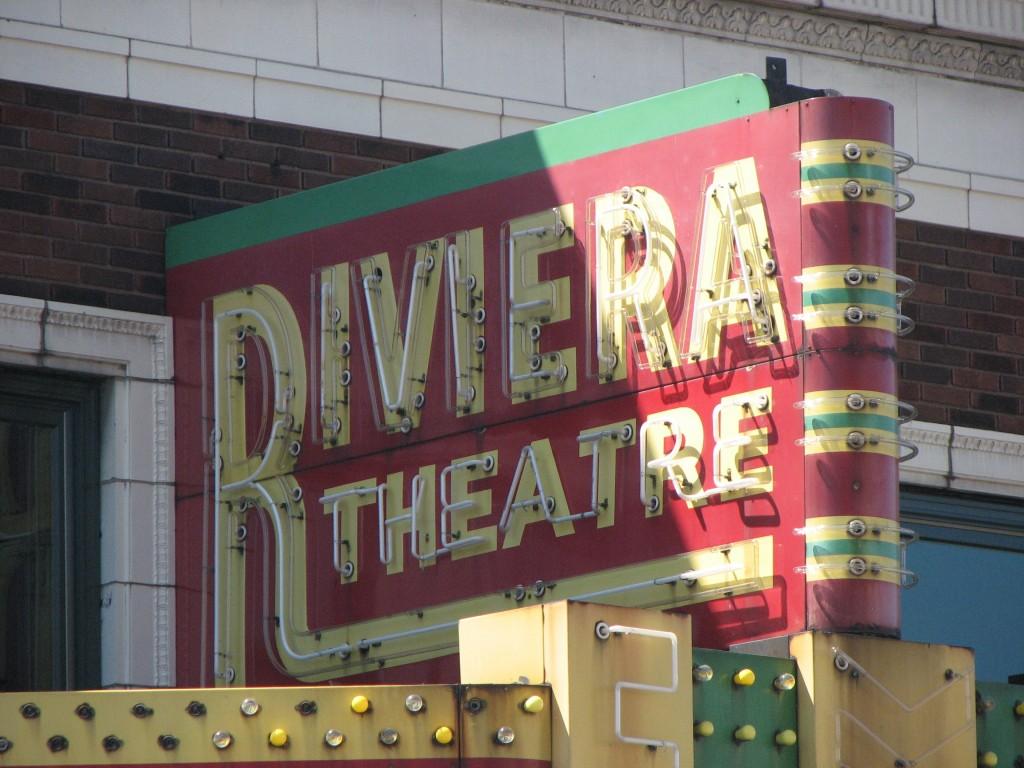 riviera theatre Darrell Harden Day 102: Riviera Theatre