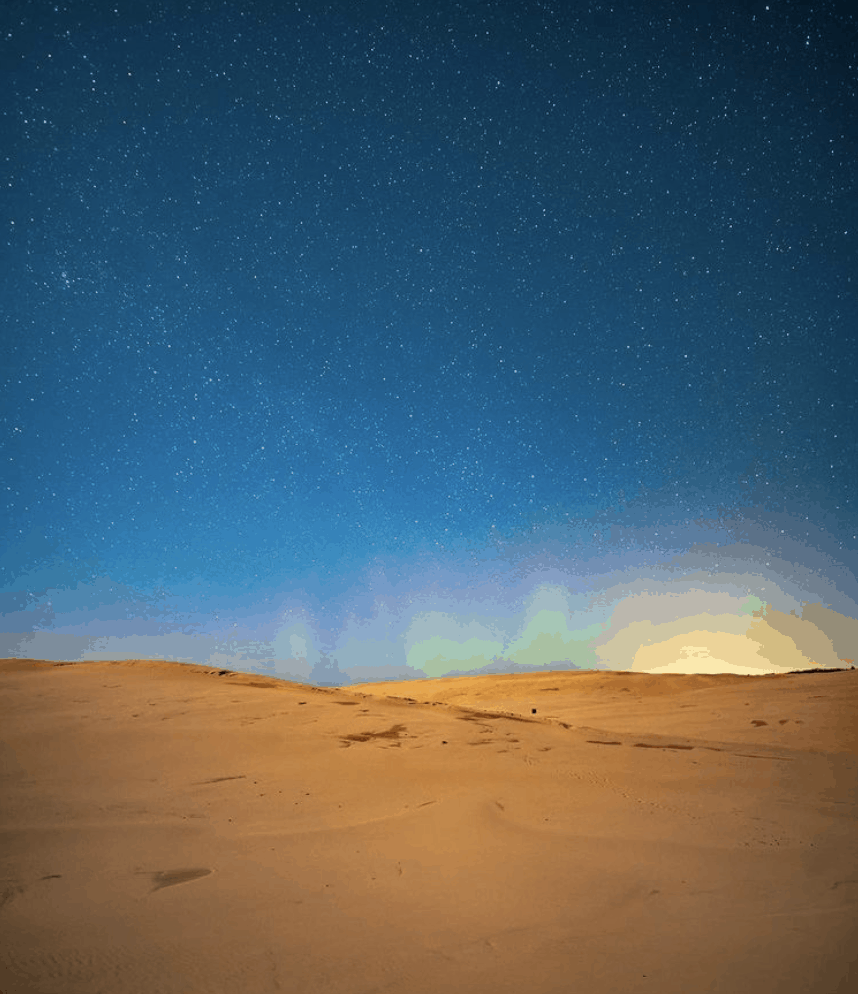 Northern Lights in Michigan: Silver Lake Sand Dunes