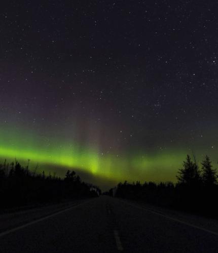 Northern Lights in Michigan: Upper Peninsula