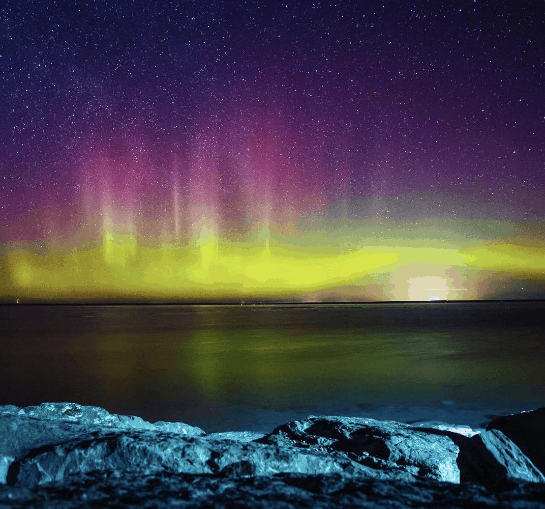 Northern Lights in Michigan: Mackinac Island