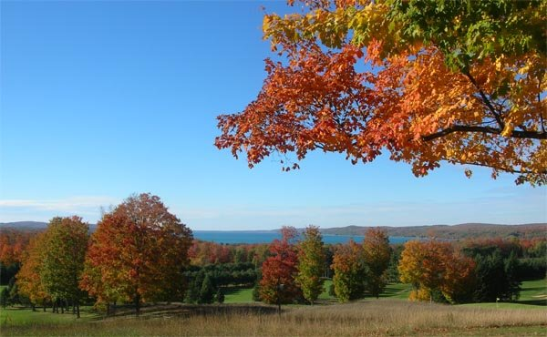 Benzie County 4 Day 123: Fall Colors in Benzie and Leelanau Counties