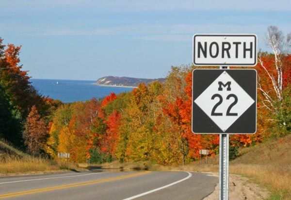 Benzie County 6 Day 123: Fall Colors in Benzie and Leelanau Counties