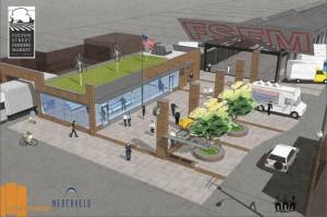Fulton Street Farmers Market Renovation Plan Facebook Day 144: Fulton Street Farmer's Market