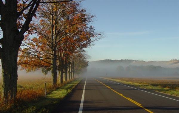 Leelanau County 3 Day 123: Fall Colors in Benzie and Leelanau Counties