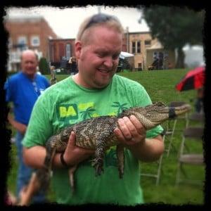 Photo courtesy of Dan Day 143: Critchlow Alligator Sanctuary