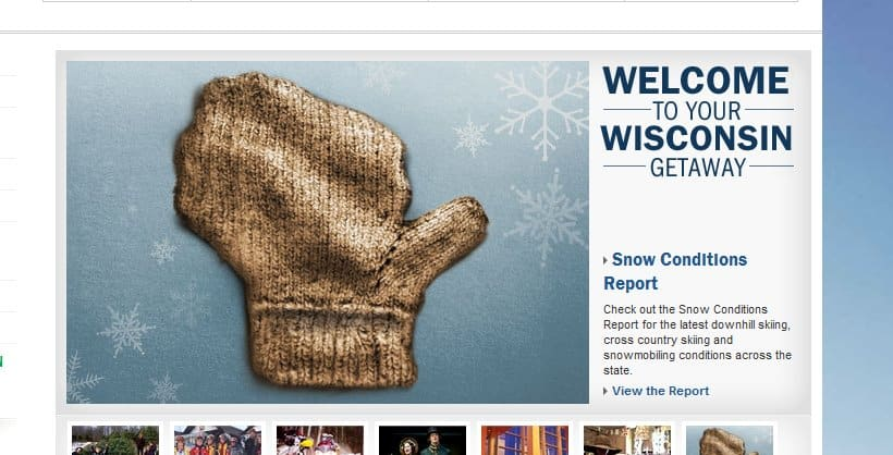 Wisconsin Mitten - The Awesome Mitten