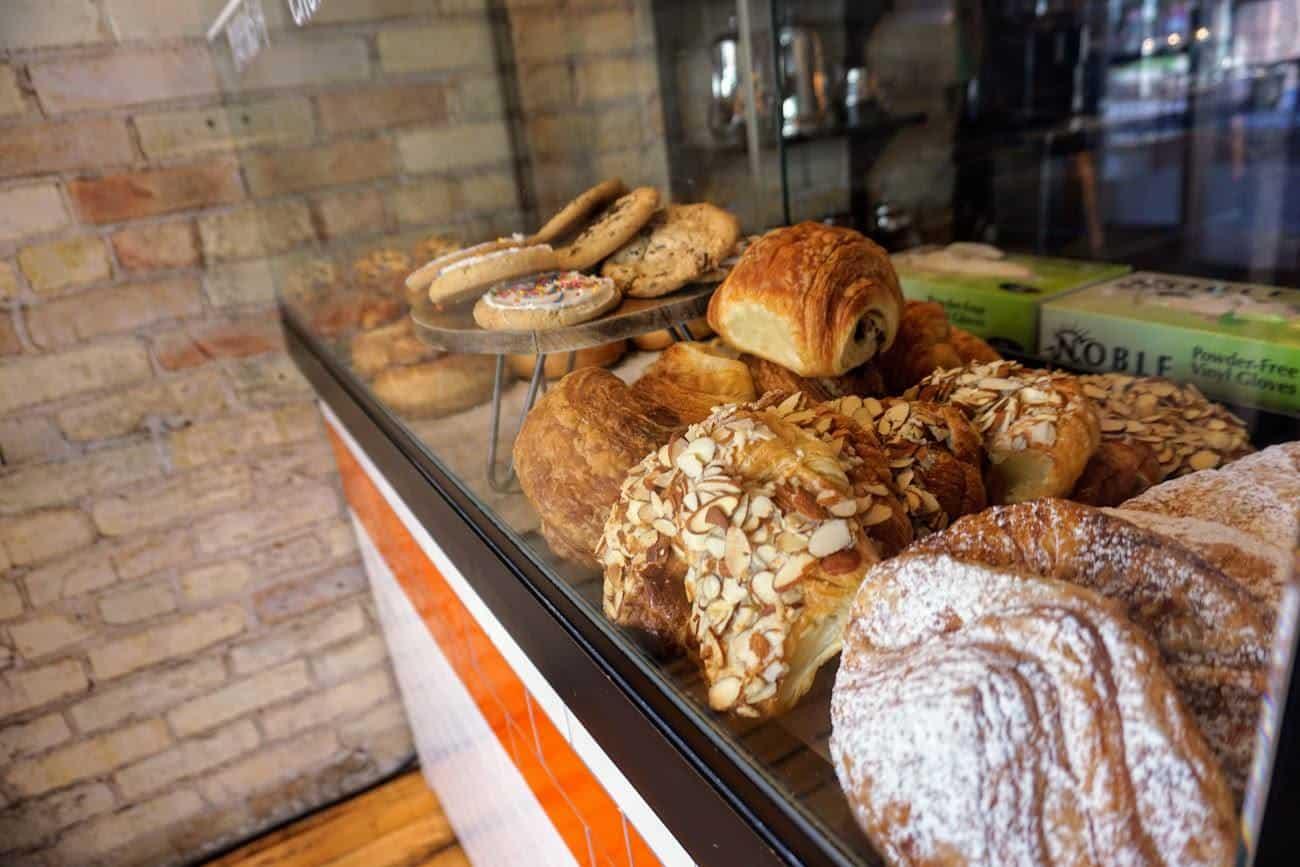 brew traverse city pastries