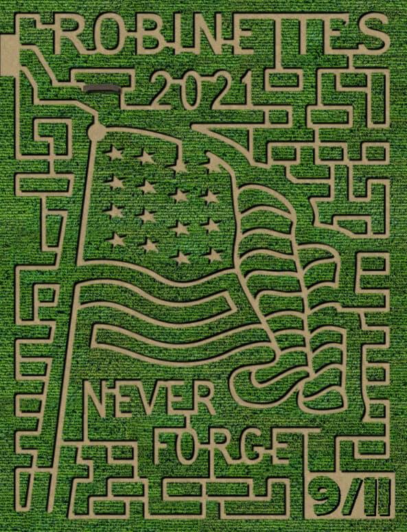 robinettes corn maze 2021