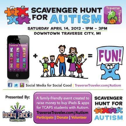 Scavenger Hunt for Autism