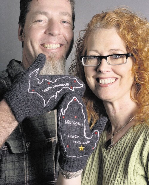 The Awesome Mitten - Michigan Mittens
