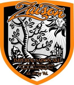 The Awesome Mitten - Brewery Vivant's Zaison