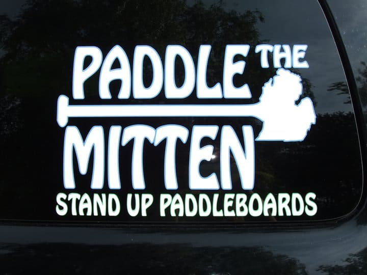 The Awesome Mitten - Paddle the Mitten