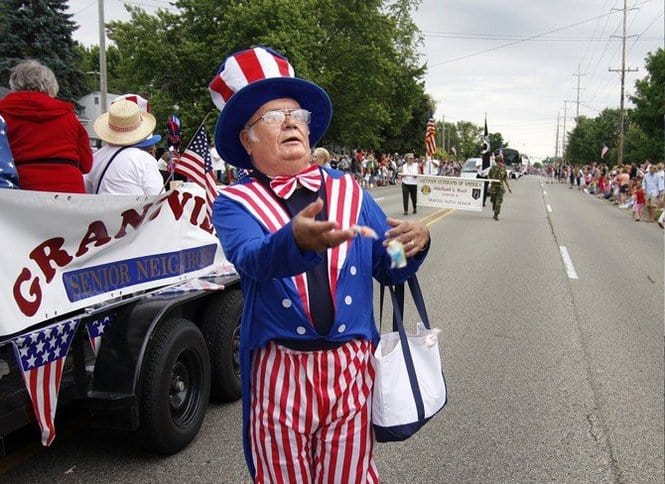 The Awesome Mitten-Grandville Fourth of July Celebration