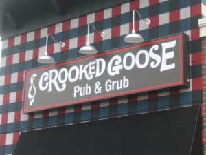 The Awesome Mitten-Crooked Goose