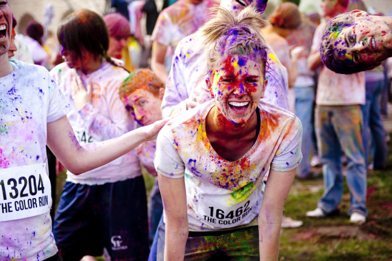 The Awesome Mitten- The Color Run