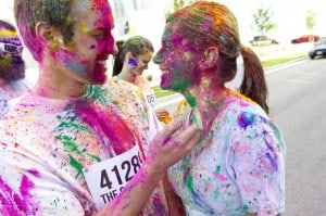 Awesome Mitten-The Color Run