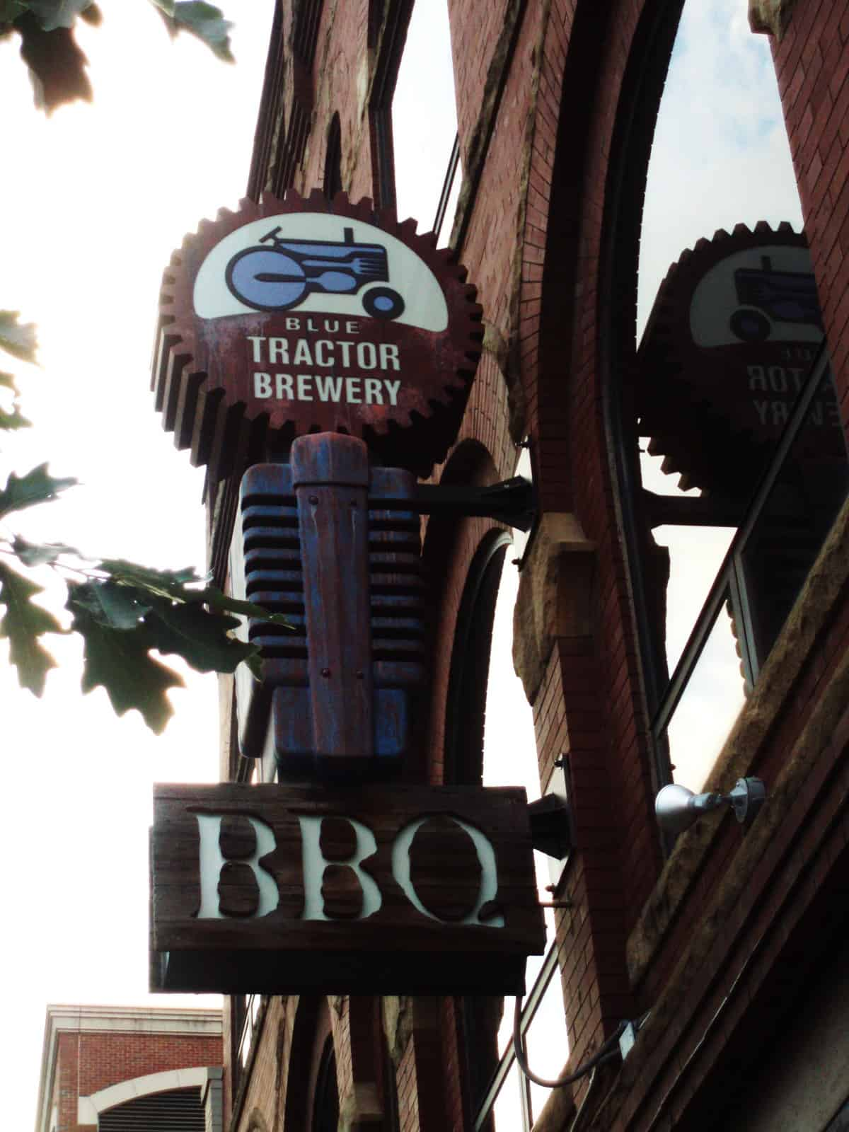 Blue Tractor BBQ and Brewery Ann Arbor