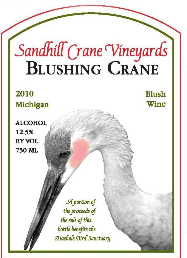 Awesome Mitten - Sandhill Crane Vineyard