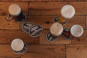ABC coasters Arbor Brewing Company