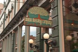 ABC sign Arbor Brewing Company