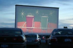 The Awesome Mitten (Cherry Bowl Drive-In Theater)