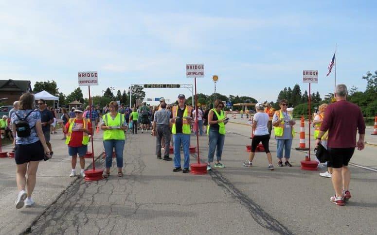 Mackinac Bridge Walk Labor Day