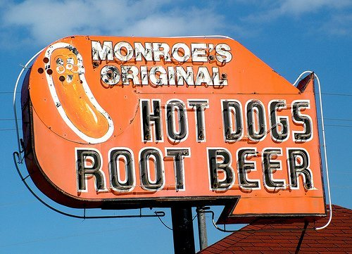 The Awesome Mitten - Monroe's Original Hotdog Drive-In