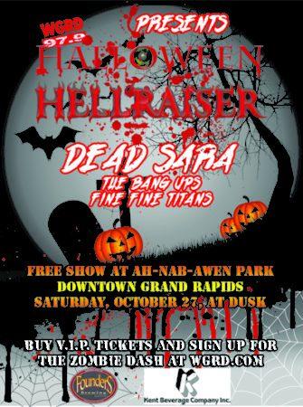 WGRD Halloween Hellraiser!