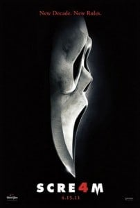The Awesome Mitten-Top Five Movies Scream 4