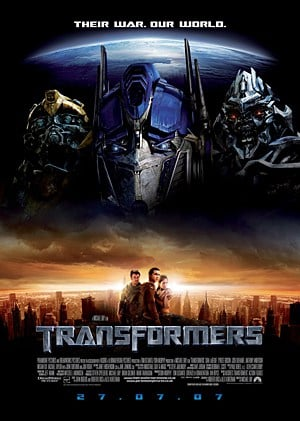 The Awesome Mitten-Top Five Movies Transformers