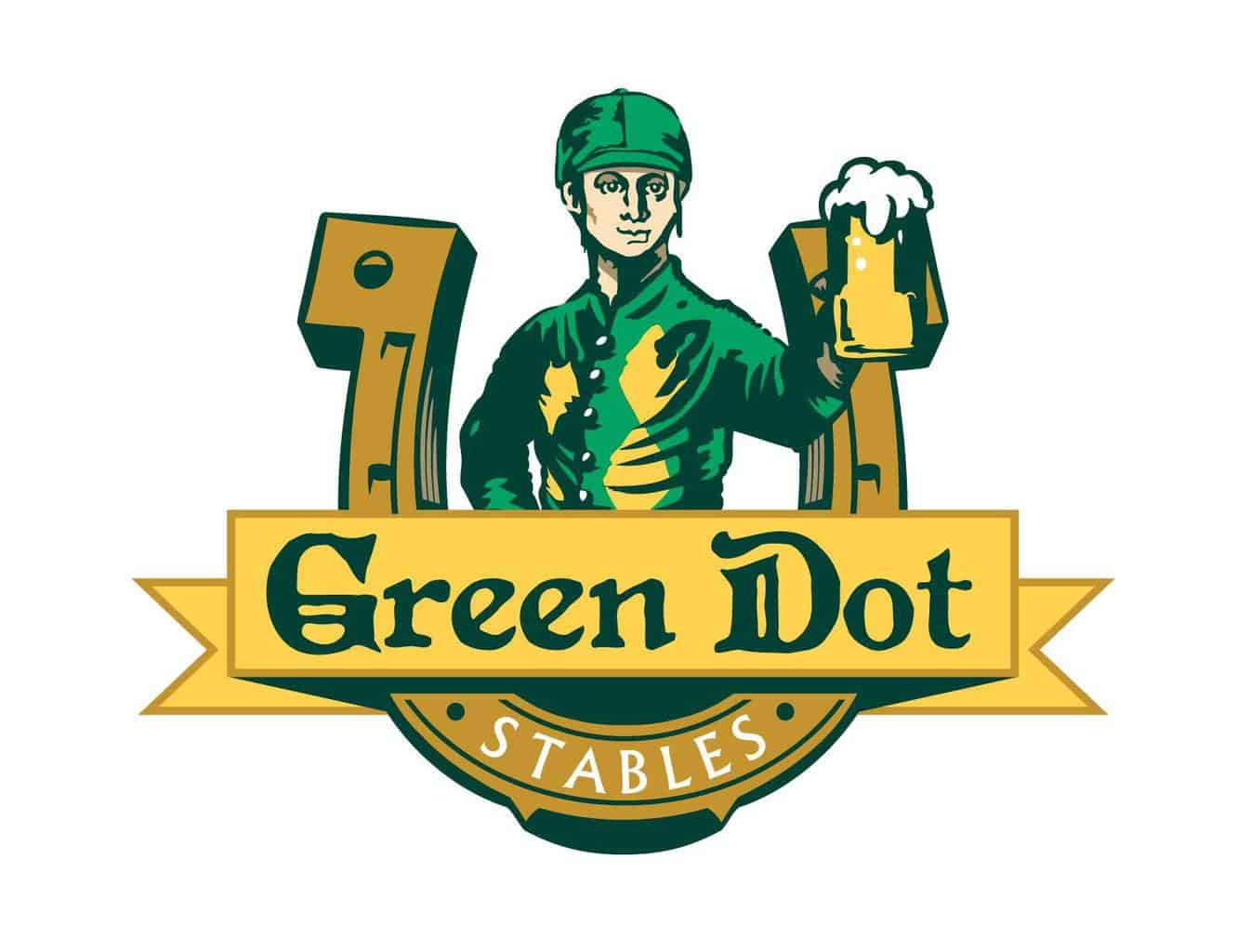 Green Dot Sign - The Awesome Mitten