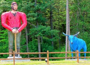 The Awesome Mitten - Paul Bunyan