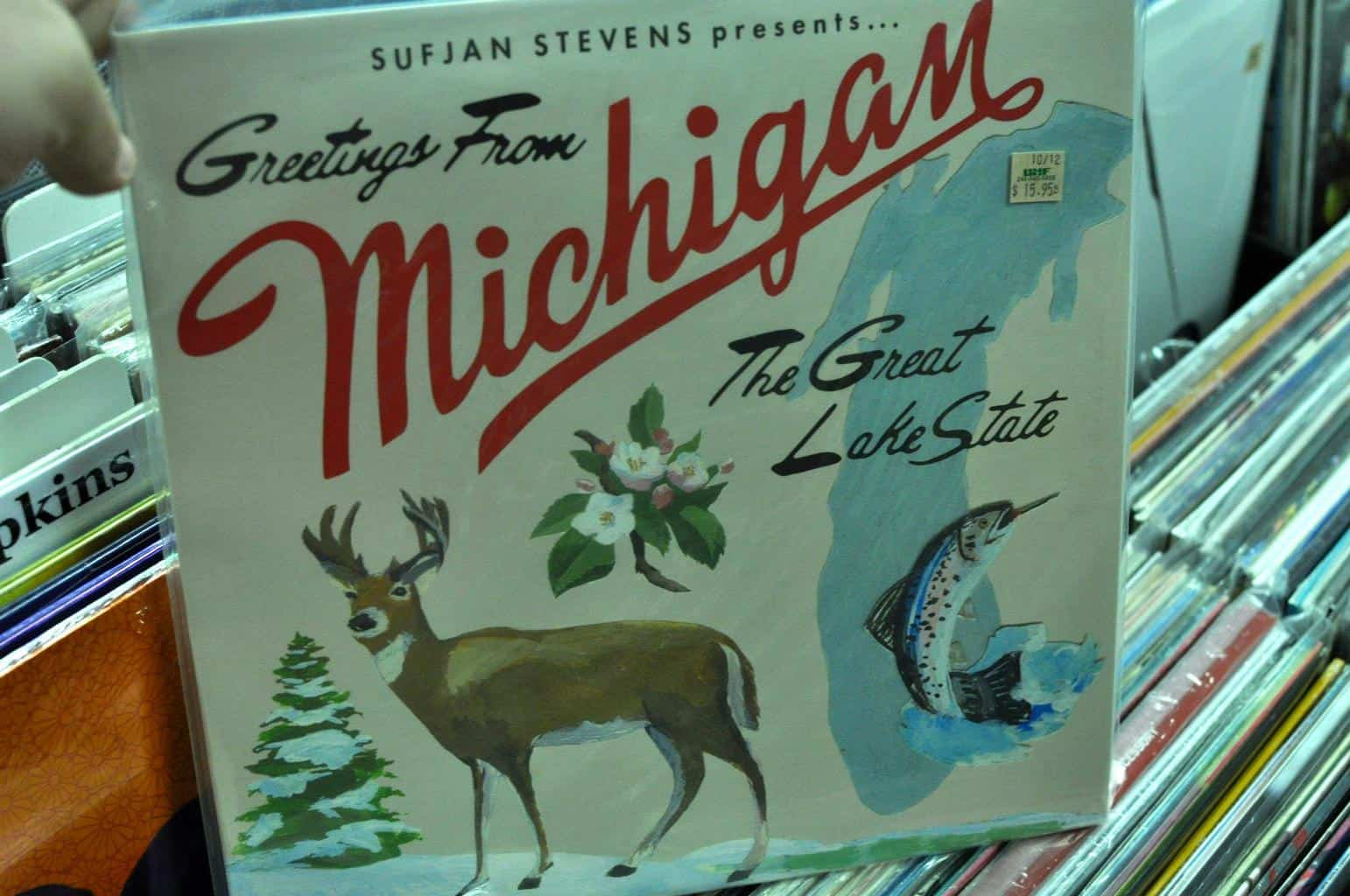 Greetings from Michigan!