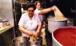 Making Pasta! Photo courtesy of Vince's Restaurant.