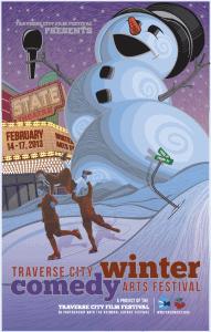 Photo Courtesy of the Traverse City Winter Comedy Arts Festival