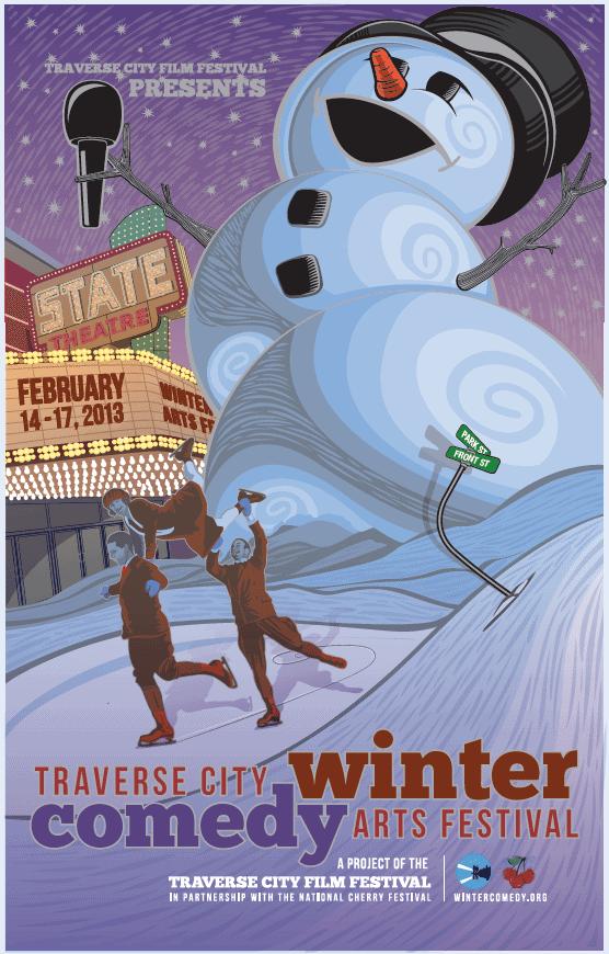 tccf2 Traverse City Winter Comedy Arts Festival