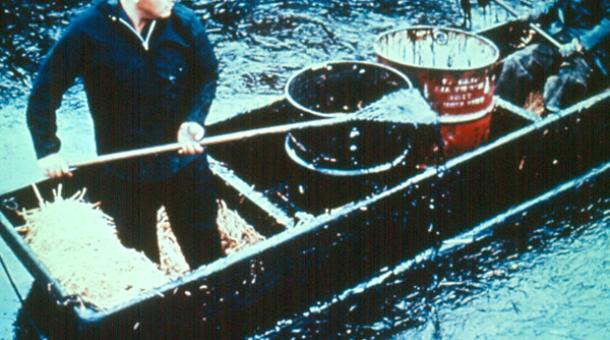 Santa Barbara oil spill clean up 1969 The Clean Water Act: 40 Years Later