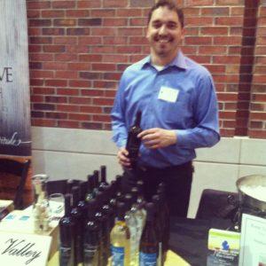 Fenn Valley Vineyards at Michigan Wine Showcase. Photo courtesy Joanna Dueweke.